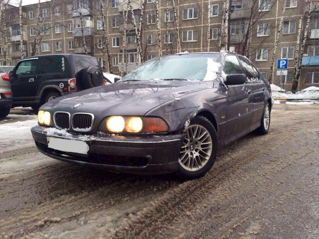 Выкупленный автомобиль BMW 5er
