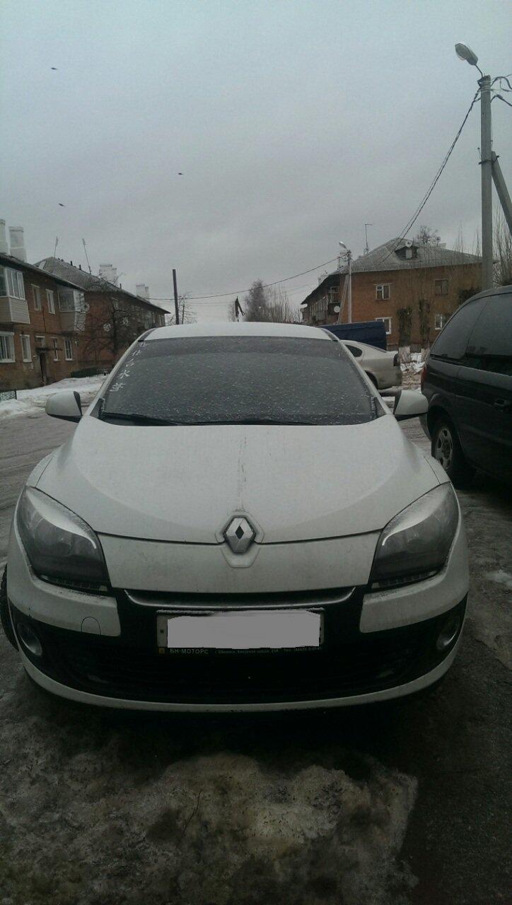 Выкупленный автомобиль Рено Меган III на crashedcar.ru