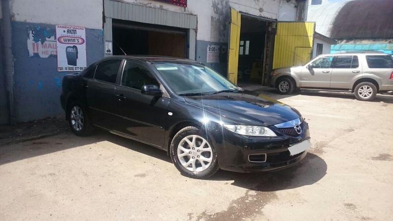 Выкупленный автомобиль Мазда 6 в crashedcar.ru