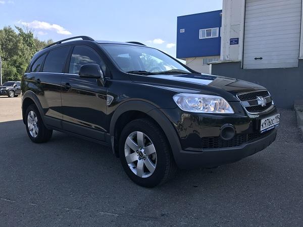 Выкупленный автомобиль Chevrolet Captiva в компании crashedcar.ru