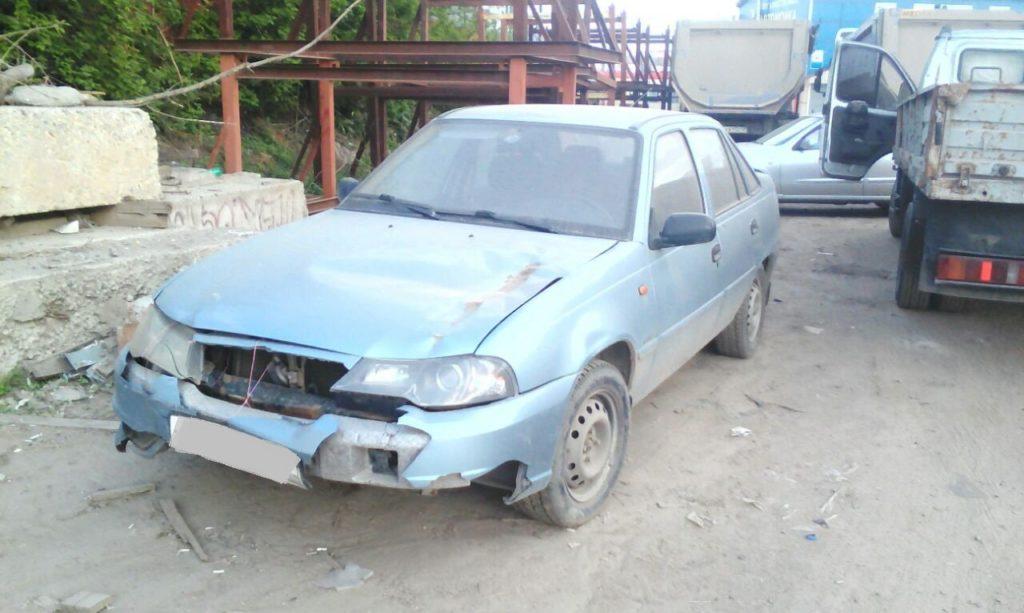 Выкупленный автомобиль Daewoo Nexia I на crashedcar.ru