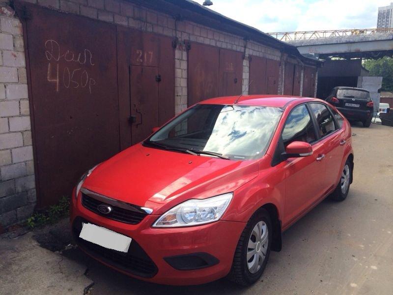 Выкупленный автомобиль Ford Focus на crashedcar.ru