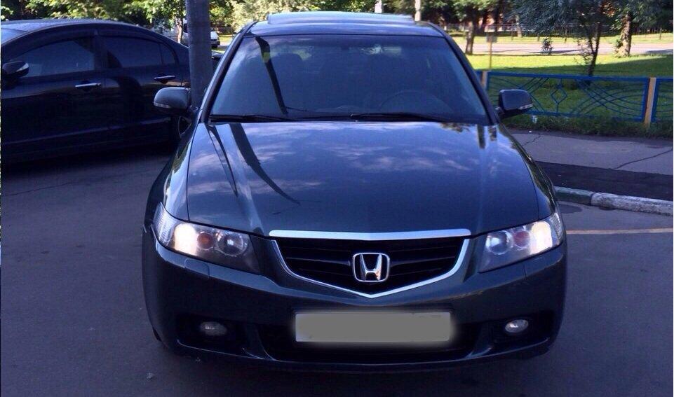 Выкупленный автомобиль Honda Accord на crashedcar.ru